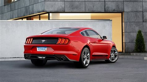 mustang with 2018 ford mustang travels to the 1960s with retro pony