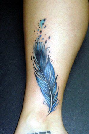 watercolor tattoo artists jacksonville nc watercolor feather by noel michele at lucky 13