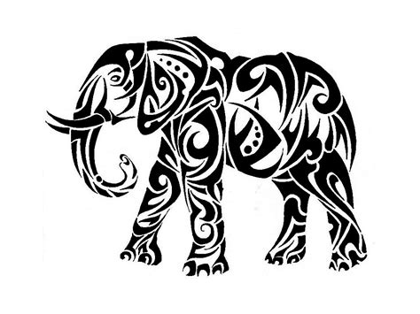 tribal elephant tattoo designs tribal tattoos and designs page 145