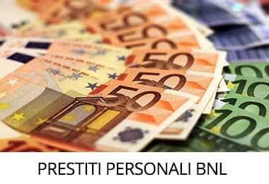 Bnl Banca Prestiti by Prestiti Personali Bnl Prestiti Si