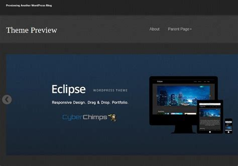 eclipse theme options top 50 free responsive wordpress themes