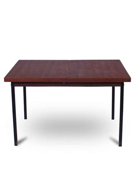 black metal leg dining table vintage extendable teak dining table with black metal legs