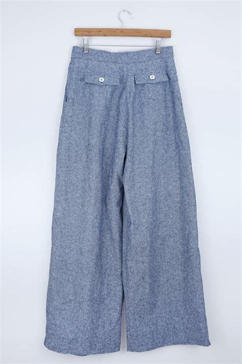 sewing pattern wide leg pants diy wide leg pants vogue v8836 sew diy