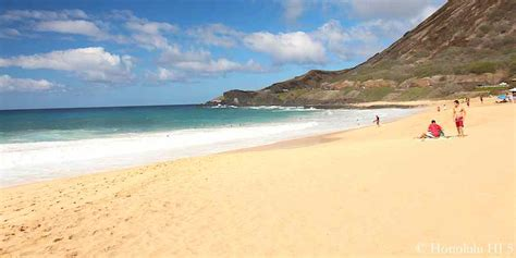 sand beaches 37 best beaches on oahu with useful map great photos