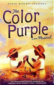 color purple the book the color purple musical