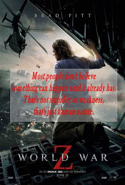 world war z book report world war z quotes quotesgram