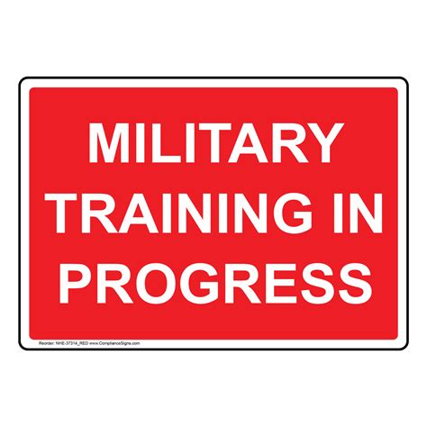 training in progress sign midrand south africa stock photo