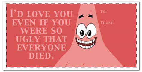 spongebob valentines day cards image 494123 s day e cards your meme