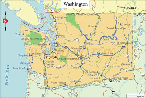 washing state map state of washington state map pictures to pin on