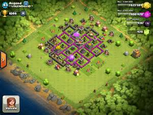 Clash Of Clans Th7 Clans Wars Trophy Base Its A Trap Youtube » Home Design 2017