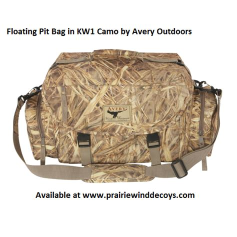 floating pit prairiewind decoys floating pit bag by avery outdoors