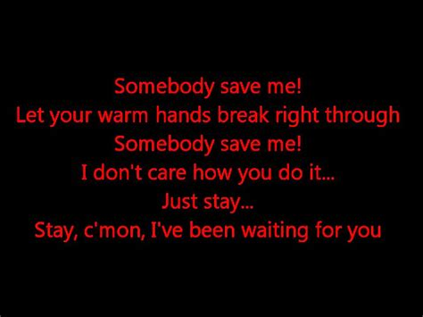 you me at six save it for the bedroom save me remy zero paroles youtube