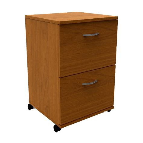 Drawers Lowes by Shop Nexera Cappuccino 2 Drawer File Cabinet At Lowes