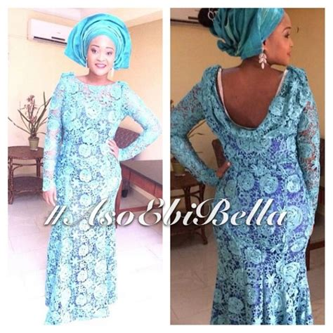 bella naija guipure lace dress bellanaija weddings presents asoebibella vol 27 new