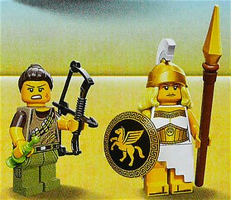 Lego Minifigure Battle Goddess Series 12 lego minifigures series 12 figures photo revealed wizard bricks and bloks