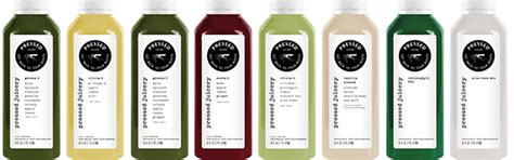 Los Angeles Detox Juice by Pressed Juicery Juice Cleanse Cold Pressed Juice Six