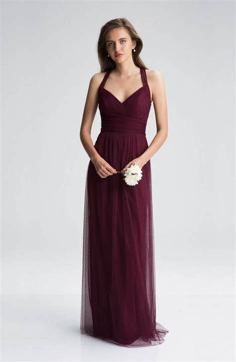 wine color dress best 25 wine bridesmaid dresses ideas on wine