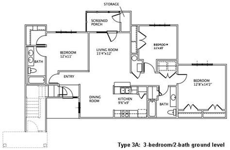 3 bedroom ground floor plan 3 bedroom floor plans may river