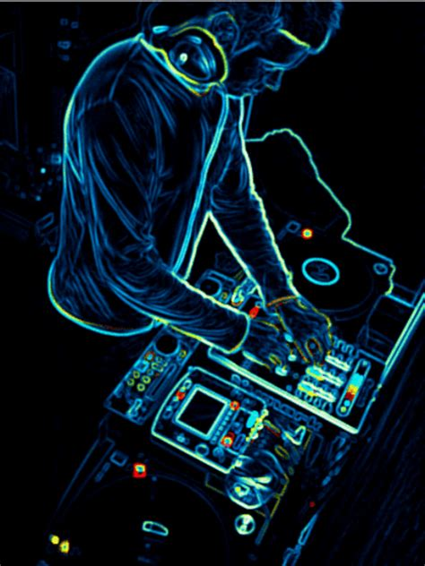 dj neon gif find amp share on giphy