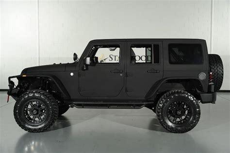 matte black jeep wrangler unlimited custom 2014 jeep wrangler unlimited with matte black