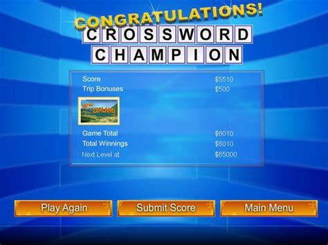 scow feature crossword clue merv griffin s crosswords game download at logler