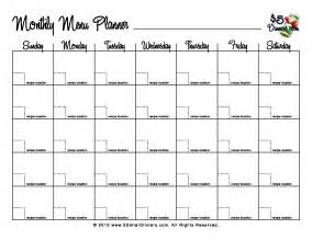 monthly planner template printable calendar templates