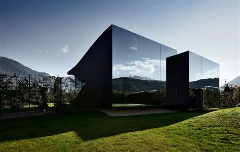 mirrored house mirror houses by peter pichler reflect the mountains of