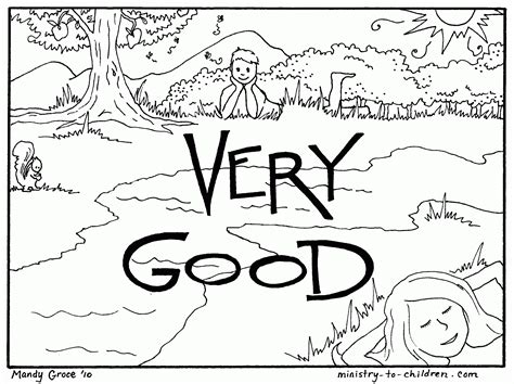 coloring page creation 7 days of creation coloring pages coloring home