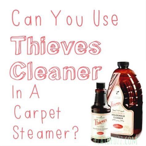 Can You Use Rug Doctor Carpet Cleaner On Upholstery by Can You Use Thieves Cleaner In A Carpet Steamer The