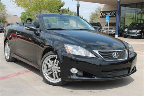 2010 lexus is 250c convertible ride cars