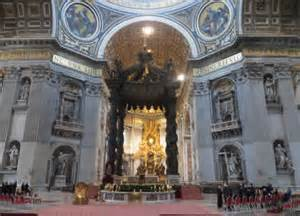 Chair Of Saint Peter Visit St Peter S Basilica Rome Opening Hours And Fast Track
