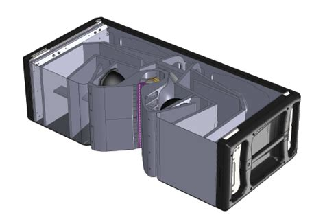 Modular Bookshelf System Turbosound Flashline Tfs 900 Line Array Front Of House