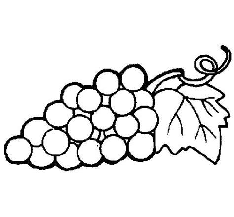 imagenes de uvas para imprimir desenho de uvas para colorir colorir com