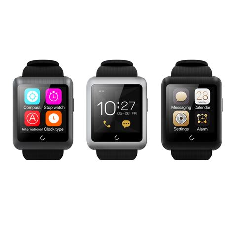 Smartwatch Ios bluetooth smart u11 uwatch smartwatch for ios android phone sim card for iphone