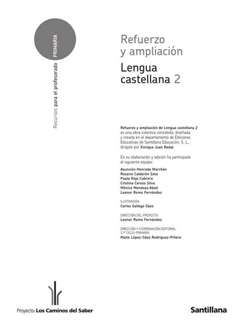 savia lengua 2 educacin refuerzo lengua segundo by nathalie m 252 ller vena issuu