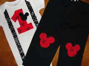 Ready to ship mickey mouse 1st birthday outfit by homeartsboerne