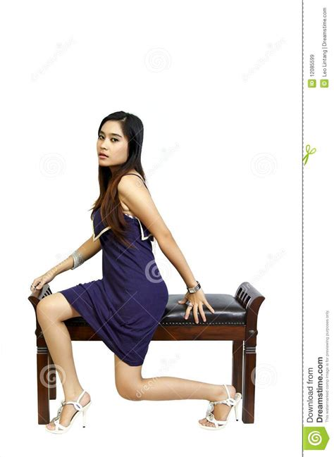 Model Sitting On Chair by Model Sitting On Chair Royalty Free Stock Images Image 12085599