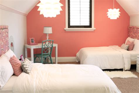 coral bedroom color schemes best coral paint colors