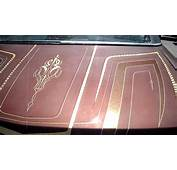 Curlys Pinstriping Brown Big Body Lowrider Cadillac  YouTube