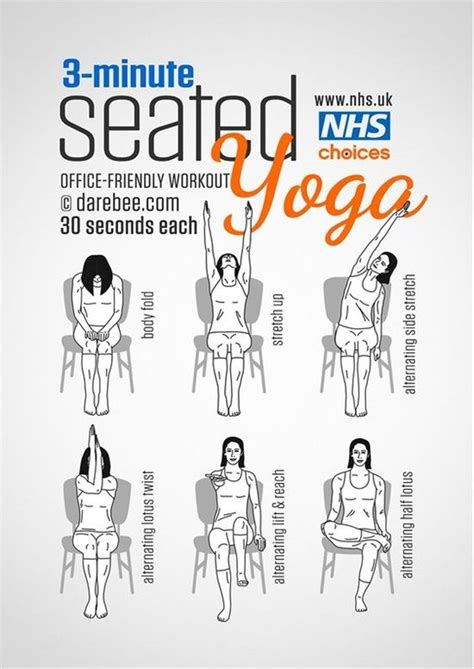 exercises      work diys chair yoga