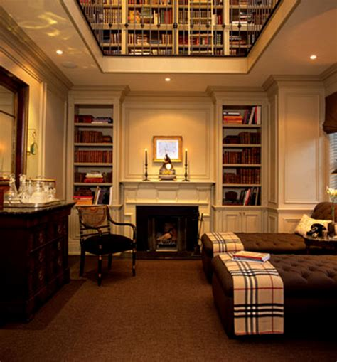 About The Book Room Burberry Plaid Do You Live In It Zeller Interiors