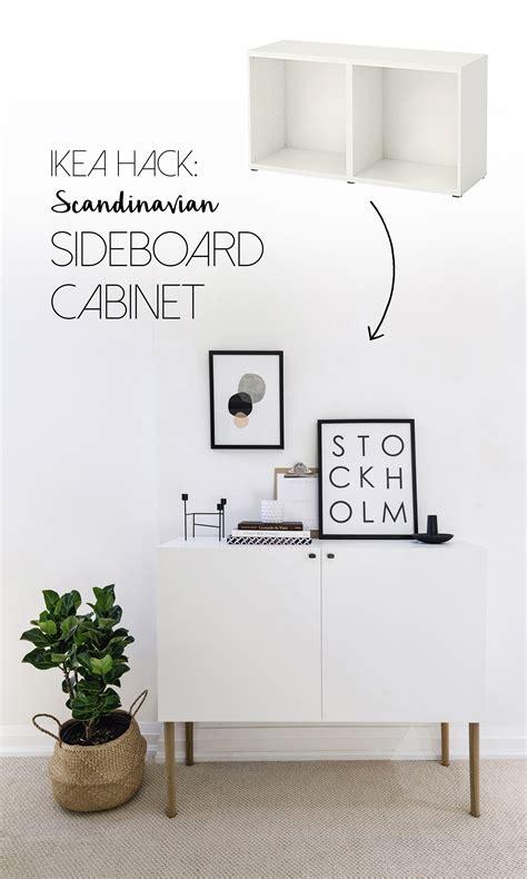 besta sideboard ikea ikea besta hack scandinavian sideboard cabinet happy