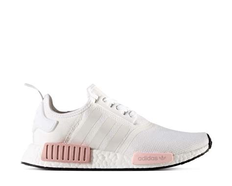 adidas nmd r1 w white pink noirfonce sneakers