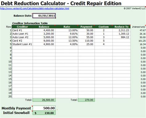 credit card debt template excel useful microsoft word microsoft excel templates hongkiat