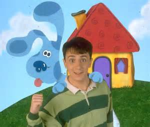 blues clues picture steve burns andpop