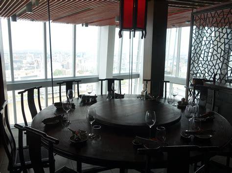 Aqua Shard Dining Room by Restaurant Review Of Hutong At The Shard June 2013