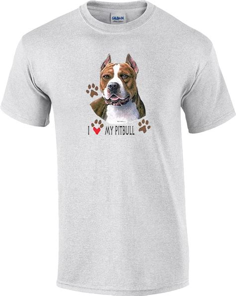 Tshirt Pitbull 3 i my pitbull pit bull t shirt ebay