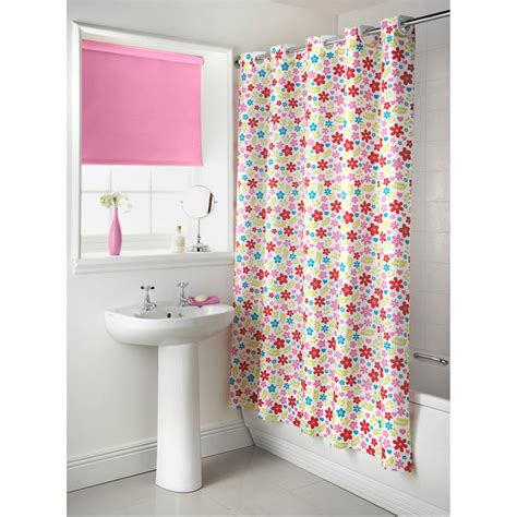 b and m shower curtain b m