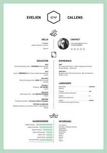 minimalist resume template indesign album layout img models height 27 magnificent cv designs that will outshine all the