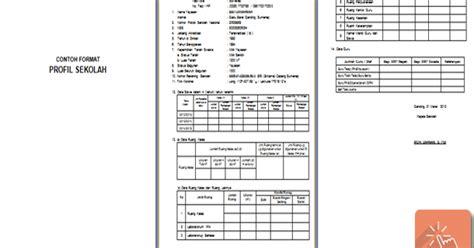 contoh format askep komunitas contoh format profil sekolah berbagi file pendidikan